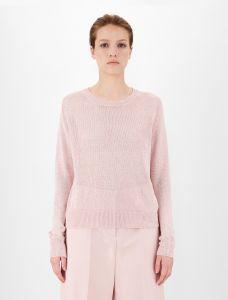 max-mara-weekend-naisten-neulepusero-teietra-knit-vaaleanpunainen-1