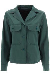 max-mara-weekend-naisten-takki-abissi-jacket-armeijanvihrea-1