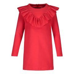 metsola-lasten-collegemekko-college-frilla-dress-kirkkaanpunainen-1