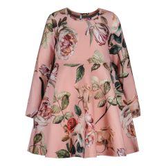 metsola-lasten-mekko-bella-rose-dress-vaaleanpunainen-kuosi-1