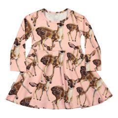 metsola-lasten-trikoomekko-bambi-ls-vaaleanpunainen-kuosi-1