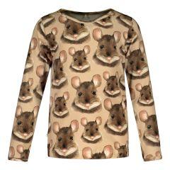 metsola-lasten-trikoopaita-mouse-ls-t-shirt-ruskea-kuosi-1