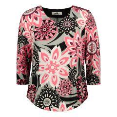 modelia-naisten-pusero-pinkki-kuosi-1