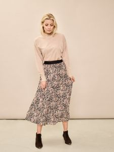 mos-mosh-naisten-hame-plisse-skirt-beige-kuosi-1