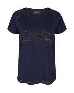 mos-mosh-naisten-t-paita-mag-tee-tummansininen-1
