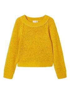 name-it-lasten-neulepaita-nkfkorry-ls-short-knit-keltainen-1