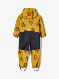 name-it-lasten-softshellhaalari-alfa-suit-wolves-keltainen-kuosi-2