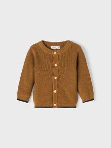 name-it-neuletakki-nbmlakim-ls-knit-cardigan-sinapinkeltainen-1
