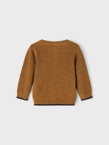 name-it-neuletakki-nbmlakim-ls-knit-cardigan-sinapinkeltainen-2
