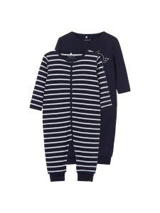 name-it-newborn-yohaalarit-2-kpl-nightsuit-2p-zip-tummansininen-1