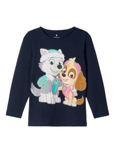 name-it-trikoopaita-nmfpawpatrol-liann-ls-top-tummansininen-1