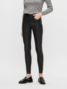 object-naisten-housut-belle-mw-coated-pants-noos-musta-1