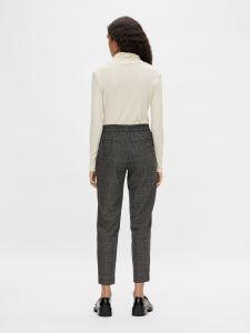 object-naisten-housut-objlisa-slim-pant-musta-ruutu-2