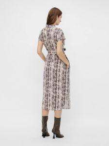 object-naisten-mekko-hannah-ss-palm-shirt-dress-beige-kuosi-2
