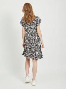 object-naisten-mekko-objbarb-aya-short-dress-musta-kuosi-2