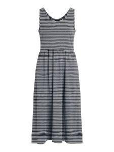object-naisten-mekko-objstephanie-sl-midi-dress-raidallinen-sininen-1