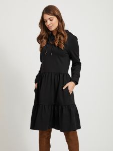 object-naisten-mekko-pilar-ls-sweat-dress-musta-1