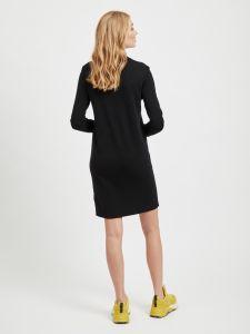 object-naisten-mekko-thess-ls-knit-dress-musta-2