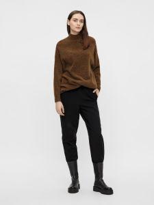 object-naisten-neulepaita-nete-high-neck-tunic-noos-tummanruskea-1
