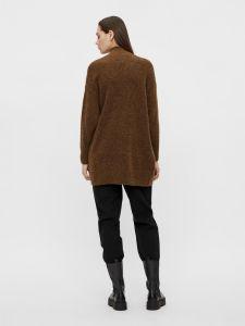 object-naisten-neulepaita-nete-high-neck-tunic-noos-tummanruskea-2