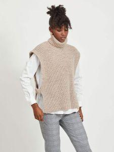 object-naisten-neulepaita-stella-knit-waistcoat-vaalea-beige-1