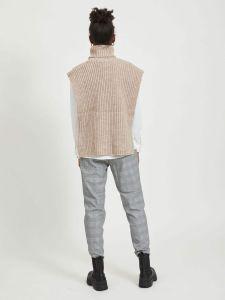 object-naisten-neulepaita-stella-knit-waistcoat-vaalea-beige-2