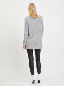 object-naisten-neuletakki-nonsia-rib-ls-knit-cardigan-vaaleanharmaa-2