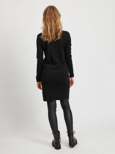 object-neulemekko-objthess-knit-dress-musta-2