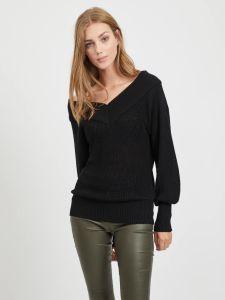 object-neulepusero-objlandaz-ls-knit-pullover-musta-1