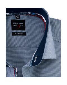 olymp-level-5-kauluspaita-hiha-body-fit-tummansininen-2