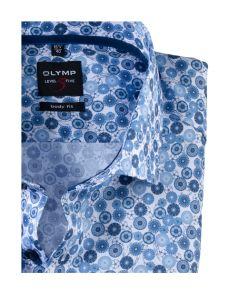 olymp-level-five-kaulupaita-hiha-body-fit-sininen-kuosi-2