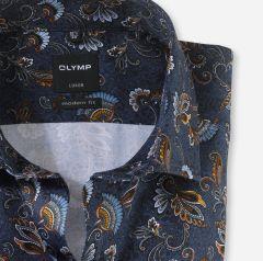 olymp-luxor-miesten-kauluspaita-1219-64-18-modern-fit-sininen-kuosi-2