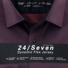 olymp-misten-bisnespaita-1228-84-34-jersey-modern-fit-punainen-kuosi-2