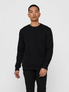 only-and-sons-miesten-collegepaita-ceres-life-crew-neck-musta-1