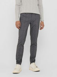 only-and-sons-miesten-housut-mark-tap-pant-check-gd-musta-1