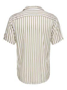 only-and-sons-miesten-kauluspaita-wayne-stripe-viscose-raidallinen-ruskea-2