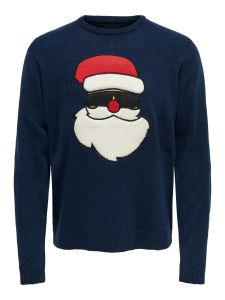 only-and-sons-miesten-neule-x-mas-funny-knit-tummansininen-1