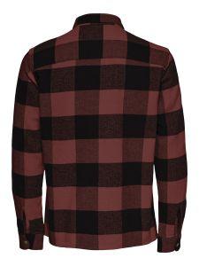 only-and-sons-miesten-paita-scott-check-overshirt-punainen-ruutu-2