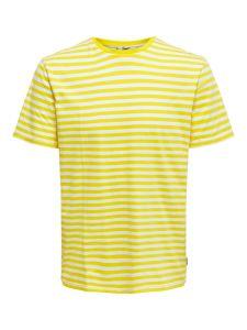 only-and-sons-miesten-t-paita-jamie-stripe-tee-raidallinen-keltainen-1