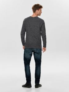 only-and-sons-neule-wictor-structure-crew-neck-musta-2
