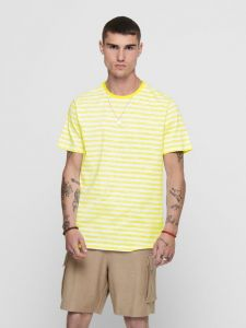 only-and-sons-t-paita-onsignite-slim-ss-stripe-tee-keltainen-1