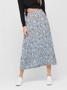 only-naisten-hame-alma-poly-plisse-skirt-sininen-kuosi-1