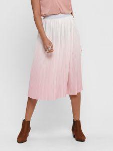 only-naisten-hame-dippy-skirt-vaaleanpunainen-1