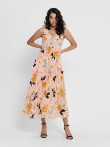 only-naisten-mekko-onlangila-s-l-dress-vaaleanpunainen-kuosi-1