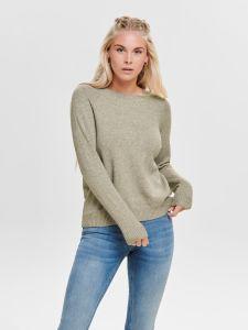 only-naisten-neule-lesly-kings-ls-pullover-vaalea-beige-1