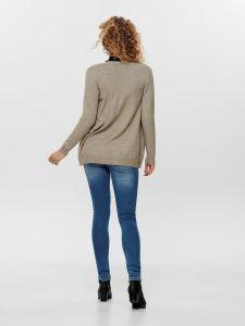 only-naisten-neuletakki-lesly-ls-open-cardigan-vaalea-beige-2