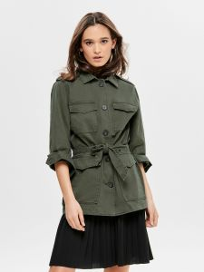 only-naisten-takki-candice-utility-belt-jacket-armeijanvihrea-1