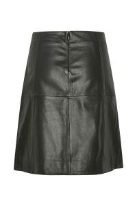 part-two-naisten-nahkahame-kittie-leather-skirt-musta-2