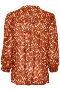 part-two-naisten-paita-dide-blouse-oranssi-kuosi-2