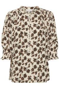 part-two-naisten-paita-ecaras-blouse-valkopohjainen-kuosi-1